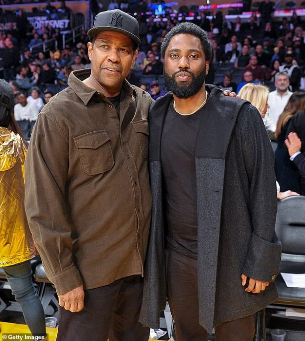 'With Rent': John David Washington briefly walks back with his famous father, Daniel Washington and mother Paulette, amid the coronovirus epidemic;  Denzel and John David featured in 2018