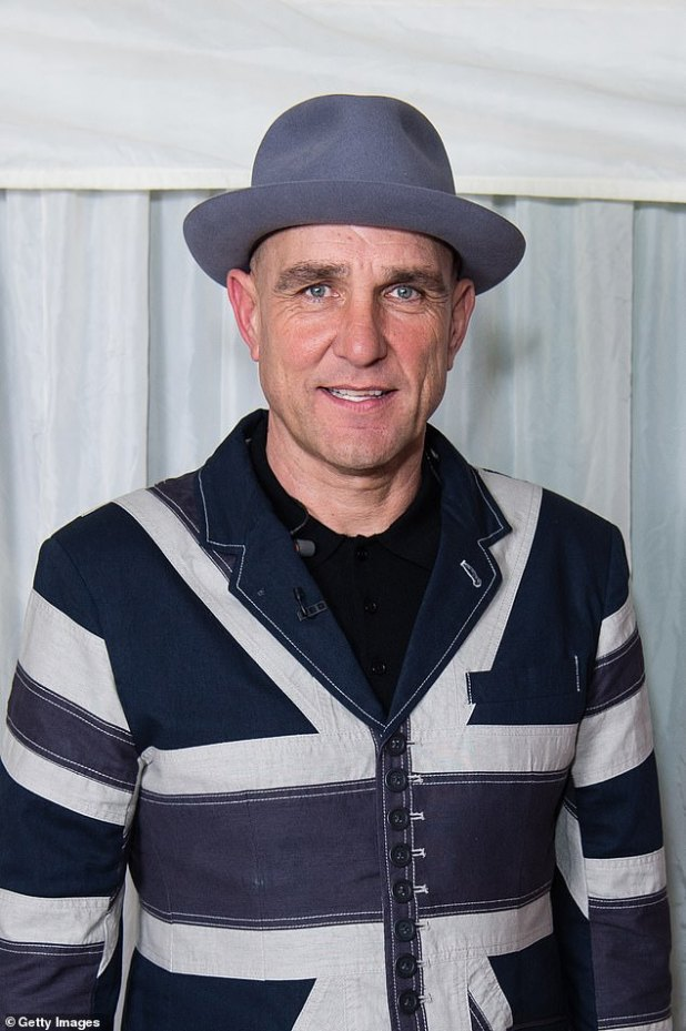 Message: Vinny Jones has revealed that he believes a white light he saw on the night of his wife Tanya's death, maybe a message to him (pictured in November 2019)