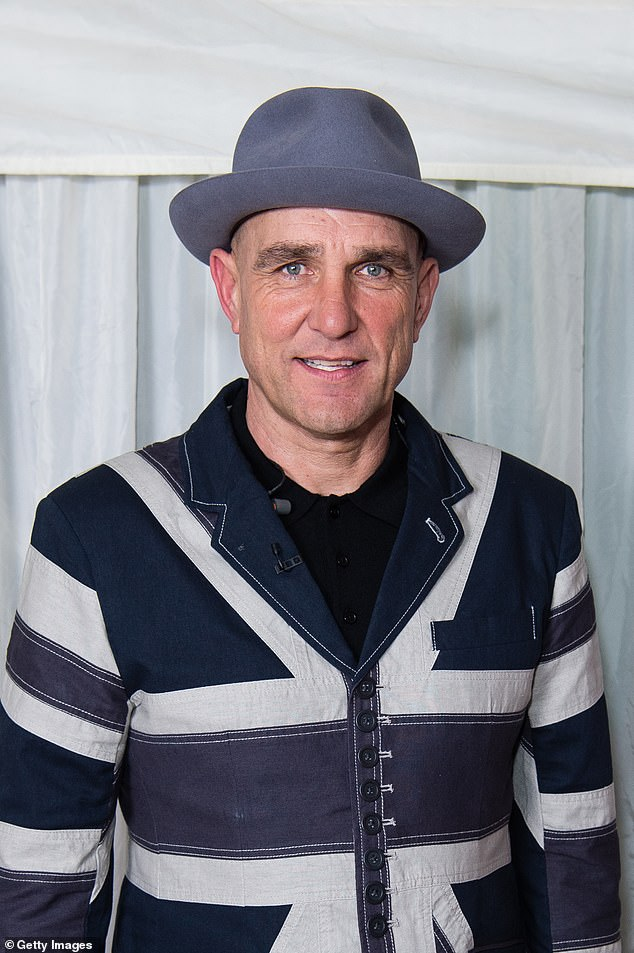 Message:Vinnie Jones has revealed he believes a white light he saw on the night his wife Tanya died may have been a message from her (pictured in November 2019)