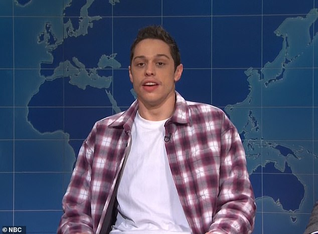 Return: Pete Davidson is among the regulars who will return to the air with the show next month