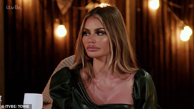 Tension: Chloe Sims, 37, and Pete Wicks, 31, have spoken out about their ongoing feud, admitting they have gone months without speaking to each other