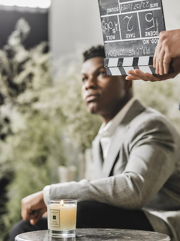 Mr Boyega, 28, also directed the advert, based around his personal experiences, for the scented candle brand, titled London Gent