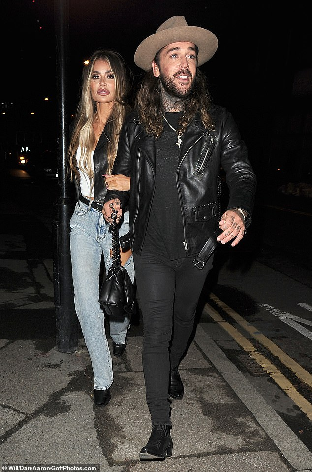 Friends again? While Pete and Chloe appeared worried about their friendship during the episode, the pair were spotted on a night out at Nightjar cocktail bar earlier this month