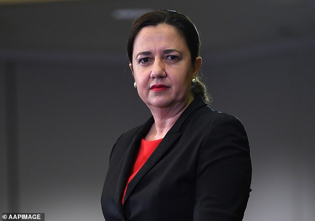 Sunrise asked Premier Annastacia Palaszczuk (pictured) and Qld Chief Health Officer Dr Jeanette Young to help Ms Dudok but both refused to appear on the show