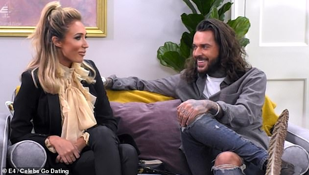 Awkward: Megan has been unlucky in love after failing to find romance on the 2019 series of Celebs Go Dating where she joined the dating agency at the same time as her ex, Pete Wicks