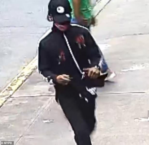 NYPD is hunting for two men and has released surveillance footage in a bid to track them down