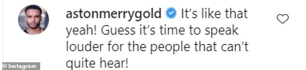 Pictured: Other celebrities respond