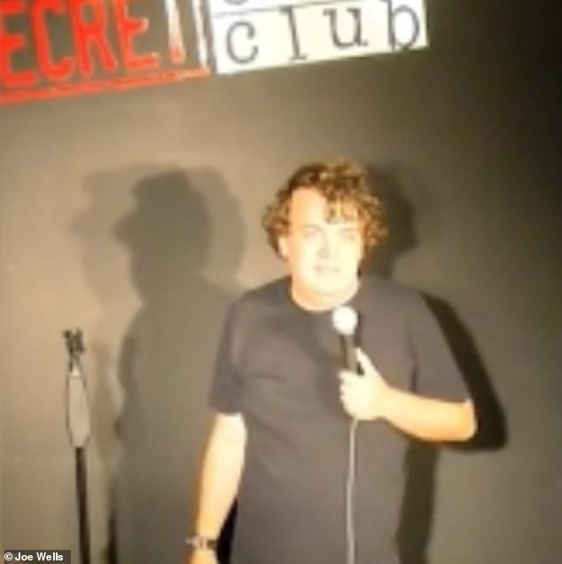 The comedian's writing career began when he published his first book 'Touch and Go Joe' about his experiences of OCD