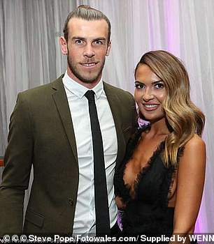 Gareth Bale, the Welsh footballer whose wife is being monitored by the Chinese tech firm