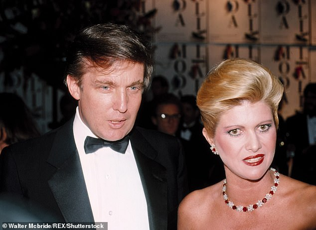 Ivana married Donald Trump in 1977 and while the pair divorced in 1990, she claims she is able to speak to the President 'any time'