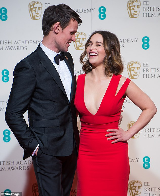 Romance? The pair ¿ who appeared together in the 2015 movie Terminator: Genisys ¿ were all smiles as they sauntered through Soho together on Friday last week. Pictured together in 2016