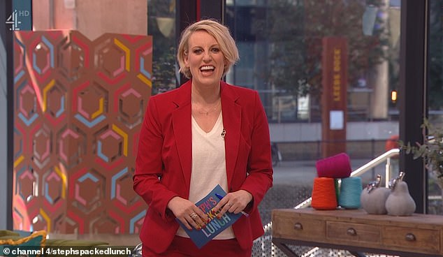 Viewers blasted Channel 4 for 'awful' sound quality on new daytime show Packed Lunch  today with one begging producers to 'turn down' host Steph McGovern's mic