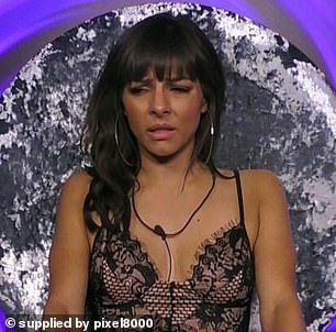 CBB: The complaints are just shy of Celebrity Big Brother's 'punchgate' which received 25,237 objections, after Roxanne Pallett, pictured, falsely accused Ryan Thomas of hitting her
