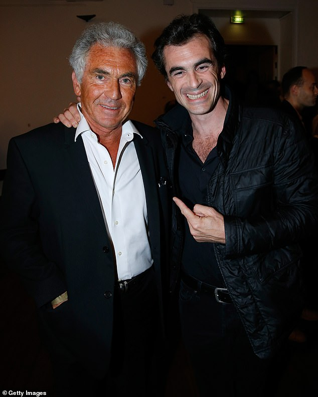 Parisian publisher and author Jean-Paul Enthoven, 71, has publicly disowned his son, philosopher and TV personality Raphaël Enthoven, 45, over his new book Le Temps Gagné (Time Saved). Pictured, the father and son together in 2016