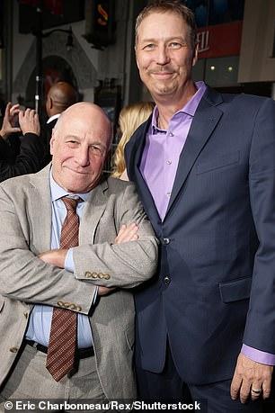 Iliff is seen right alongside filmmaker Rick King at the premier of Point Break in Los Angeles in 2015
