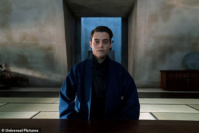 Adversary: The upcoming blockbuster will see 007 face off against the villainous Safin, portrayed by Rami Malek, in his latest life-threatening mission