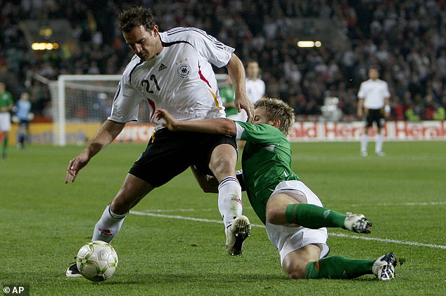 Metzelder made 47 appearances for Germany during his career and also won the Bundesliga