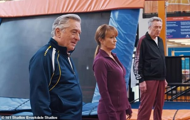 Dodgeball with DeNiro and Walken!  Jane will next play Frye's electronics employee Diane in Tim Hill's long-delayed comedy The War with Dada, which will be released in theaters only on 9 October in the US and in the UK on 16 October.