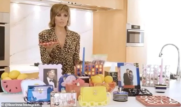 Hilarious:Edie Parker has enlisted RHOBH's Lisa Rinna to debut its newest collection via a nostalgic infomercial, inspired by the beloved and equally kitschy Home Shopping Network