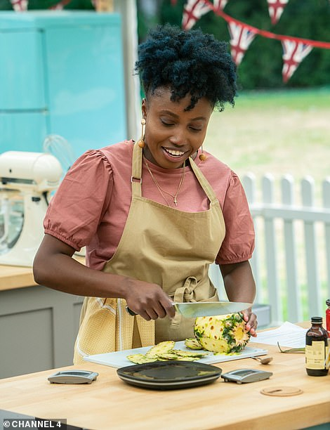 Passionate: Loriea, 27, from Durham started baking 10 years earlier with help from her grandmother