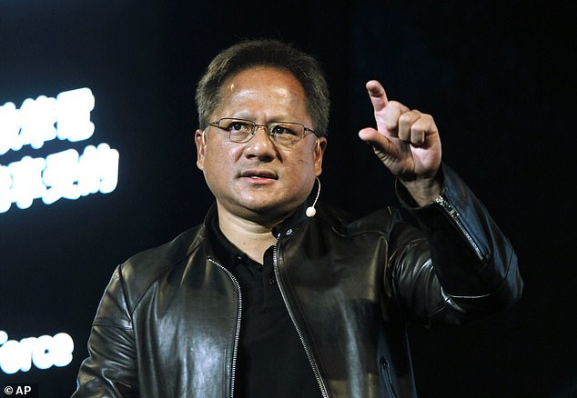 Nvidia CEO Jensen Huang is pictured above.The proposed £30 billion disposal of this star in the modern-manufacturing firmament to American giant Nvidia would be a huge betrayal of Britain¿s high-tech future and could destroy the fabric of a great company