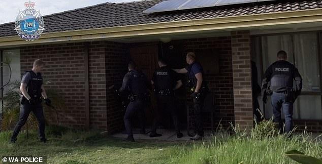 Officers in Operation Zulu raided 23 properties last week in Perth due to drugs