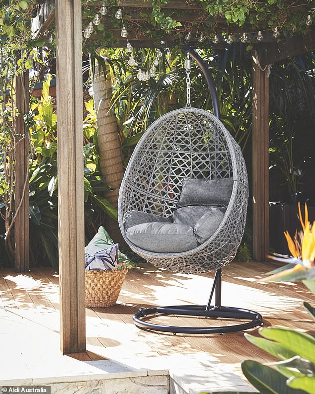 Aldi Australia is set to bring back its sell-out $199 'egg' chair just in time for spring