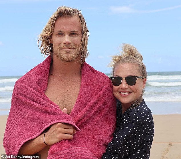 Her model brother Jett (left) paid tribute to his sister on Tuesday, admitting that while he 'may not have been the best brother' to Jaimi (right) they 'loved one another unconditionally'
