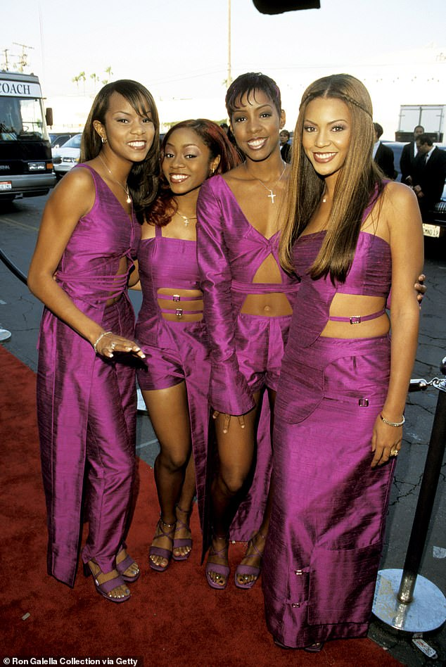 The way they were: LeToya was part of Destiny's Child with Beyonce Knowles, Kelly Rowland and LaTavia Roberson, a group formed by Beyonce's dad Matthew Knowles in 1993.