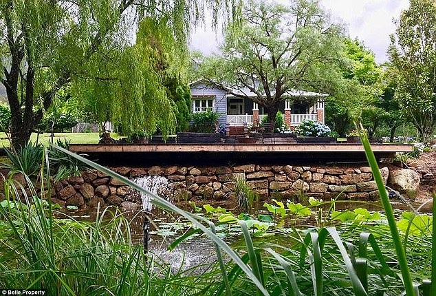 Pricey: Tim and his wife only recently sold their Kangaroo Valley estate for more than $4million to Australian director, George Miller