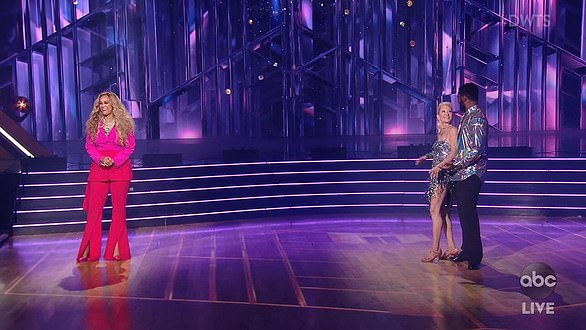 Banter: Tyra did not hold back as she engaged in frequent laugh-filled banter with the judges, coaches, and celebrity contestants, while keeping in tune with the show's fast paced format