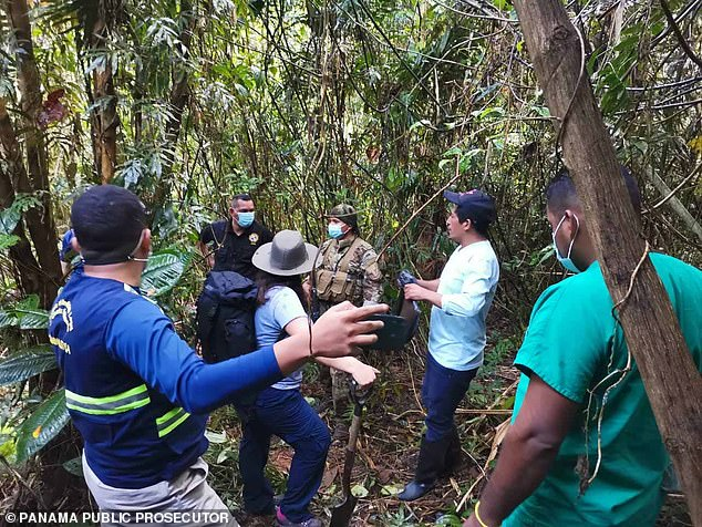 Panama's Aeronaval Service (SENAN) said in a statement the grave was located after a painstaking month-long search