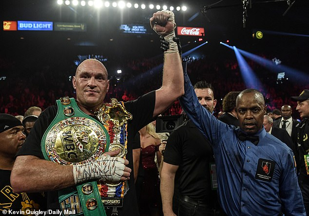 WBC world champion Tyson Fury is set to fight fellow title holder Anthony Joshua next year