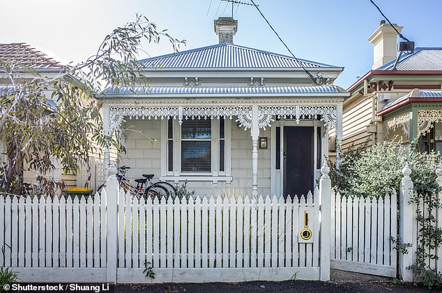 The exodus of workers is driving more property investors to consider buying in regional and coastal areas. Pictured: A typical Victorian era residential home in Melbourne