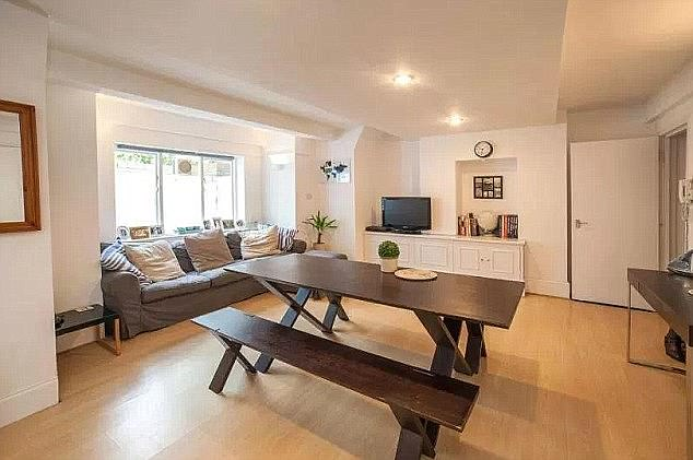 The flat in Cranley Gardens, Muswell Hill (pictured in 2017), where the Job Centre worker killed three of his victims, was last sold for £285,000 in 2015 - unbelievably making a £35,000 profit from its 2013 price