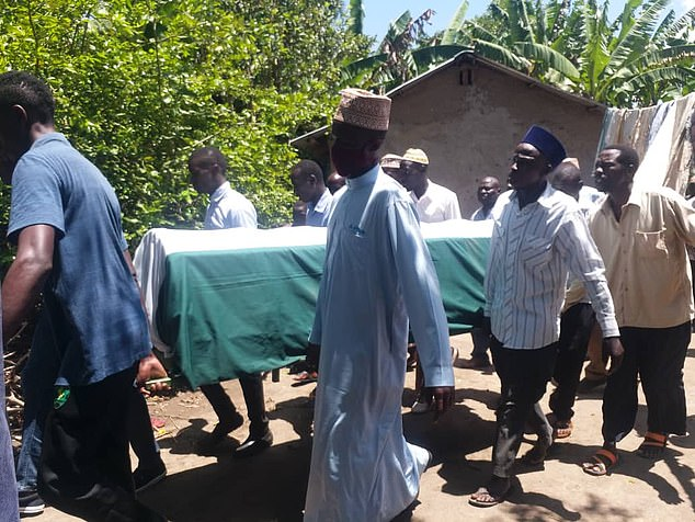 Mercy's funeral took place at her family village near Bugiri, eastern Uganda, yesterday