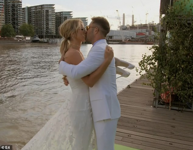 Sweet:Spencer and Vogue tied the knot again back in September during a riverside ceremony in London, which was filmed for their E4 reality show Spencer, Vogue and Wedding Two