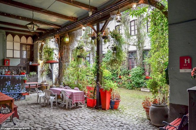 Hugo took breakfast in the courtyard whilst he was writing his classic novel, which later became a hugely popular musical