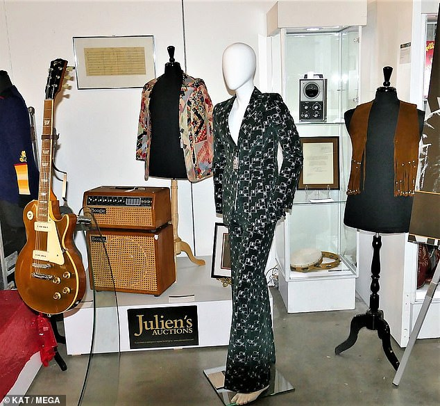 Collection: The collection contained pieces from Wyman's three-decade stint in the Stones as well as from his solo career, and was sold at a Julien's Auctions event in Beverly Hills
