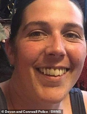 Christopher Mayer, 22, was charged with the murder of Lorraine Cox (pictured), 32, after she went missing in Exeter city centre on September 1