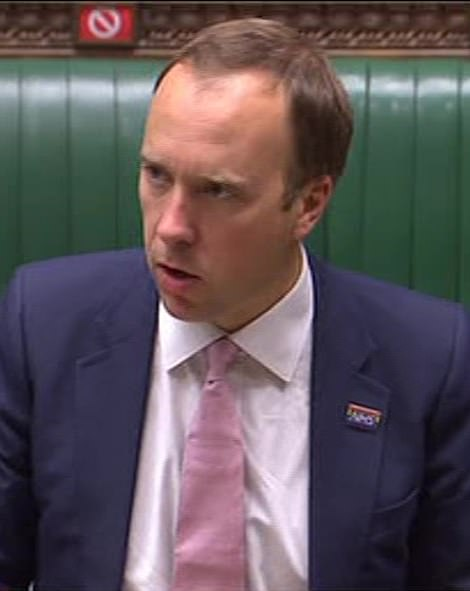 Health Secretary Matt Hancock was grilled in the Commons today over the 'farce' descending on Covid-19 tests in the UK