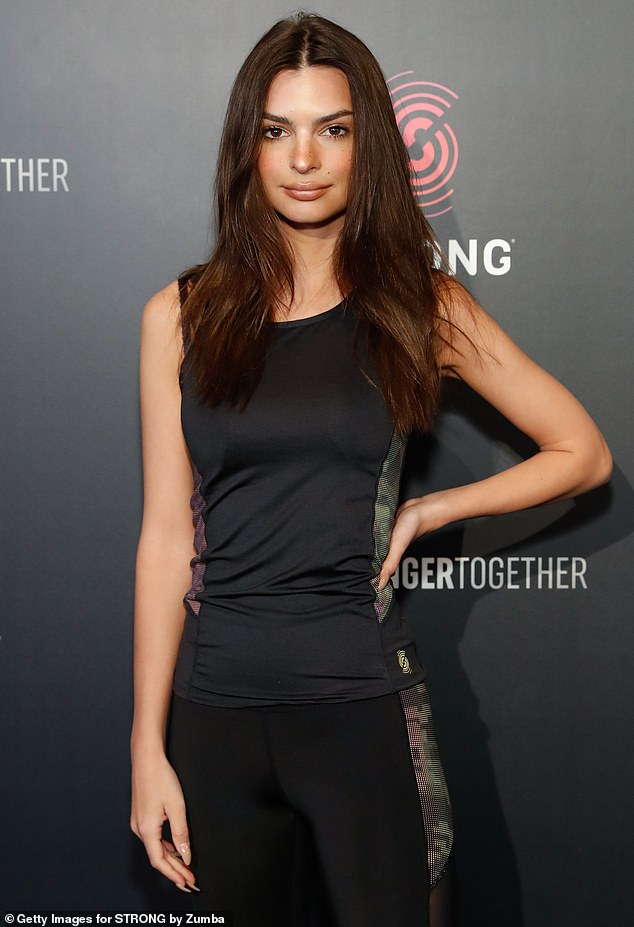 Speaking out: Emily Ratajkowski has claimed that she was assaulted by photographer Jonathan Leder during a nude shoot in 2012, when she was 20 years old