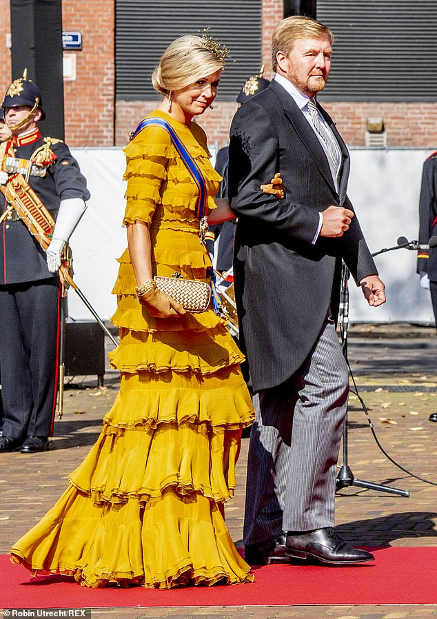 The royal couple are usually joined by other members of the royal family for the event. Last year King Willem-Alexander's younger brother Prince Constatijn and his wife Princess Laurentien joined the proceedings
