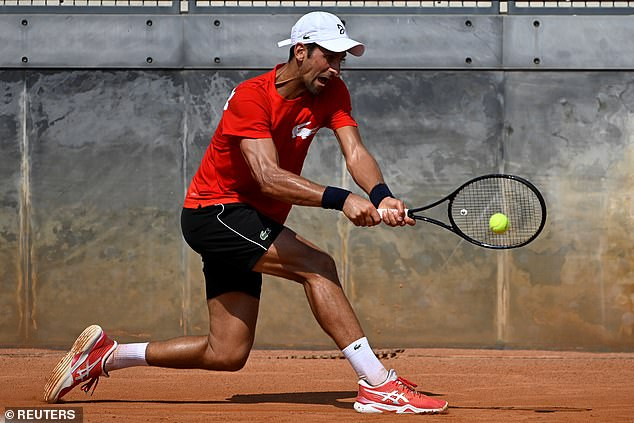 Novak Djokovic Steps Up Preparations For His Return To Action In Rome Xoonews