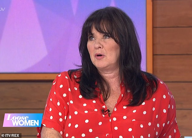 Finding The One: Coleen Nolan has admitted that she is terrified of being catfished after joining four different dating apps in her search for love