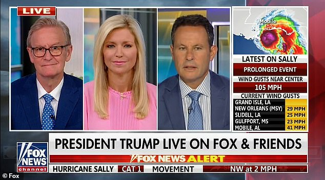President Donald Trump called in to 'Fox & Friends' Tuesday and said he had agreed to do a once a week appearance