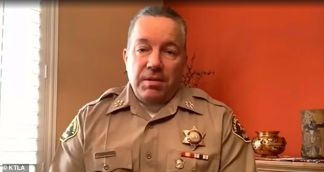 Sheriff Alex Villanueva on Monday stressed during a briefing that the rumors were unfounded