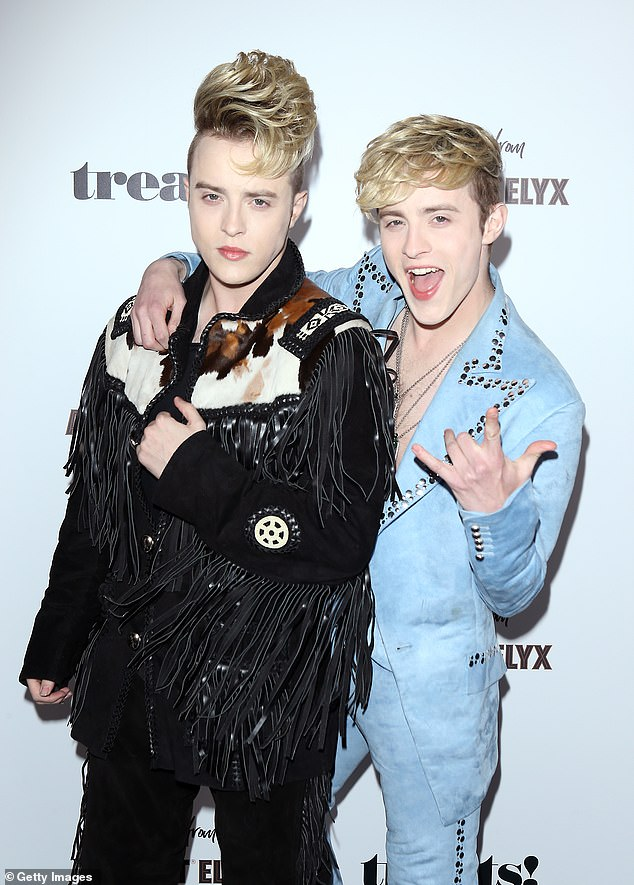 Jedward also waded into the JK Rowling transphobia row, suggesting their fans use her new book as firewood