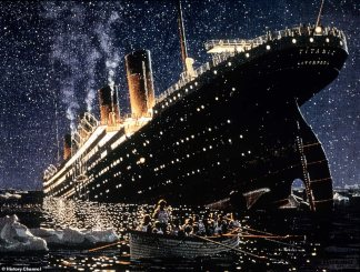 Study Suggests, Solar Flare May have Cntributed to the Sinking of the Titanic by Throwing Off Compass Readings and Causing Radio Interference