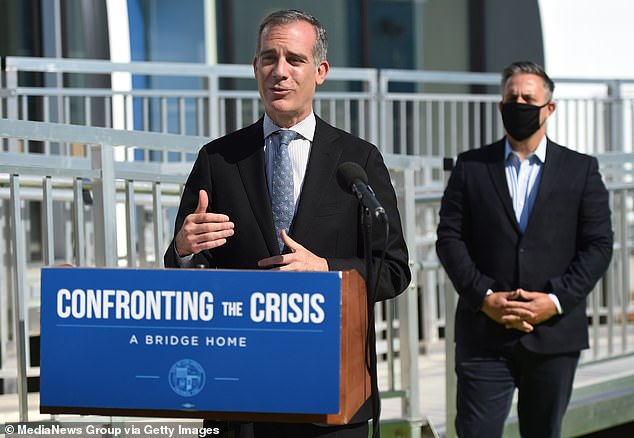 Price along with the Africa Town Coalition met with Mayor Eric Garcetti several times to discuss the creation of a 'cultural competency' workshop for business owners in Los Angeles areas earlier this year